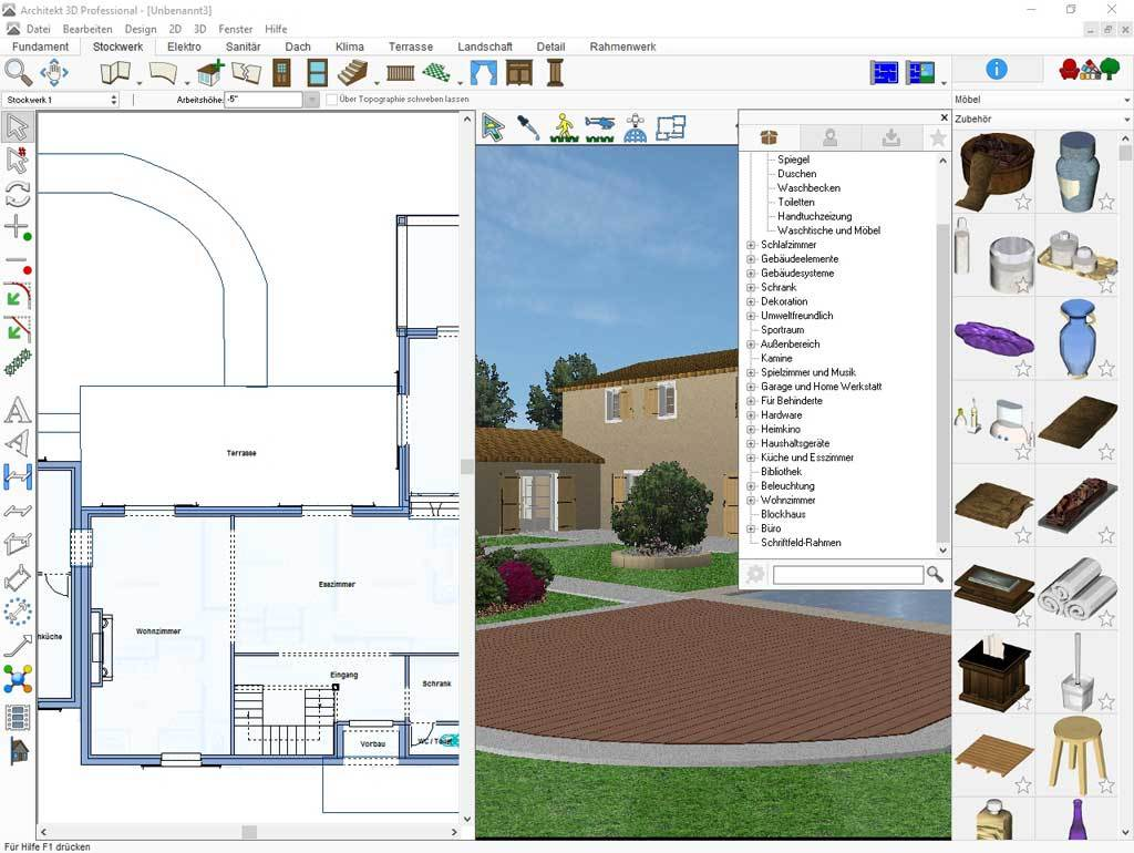 Architekt 3D X9 Professional screenshot 2