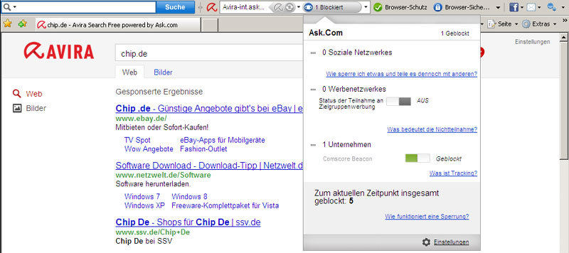 Avira Antivirus Premium 2013 screenshot 1
