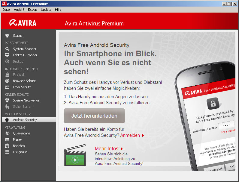 Avira Antivirus Premium 2013 screenshot 5