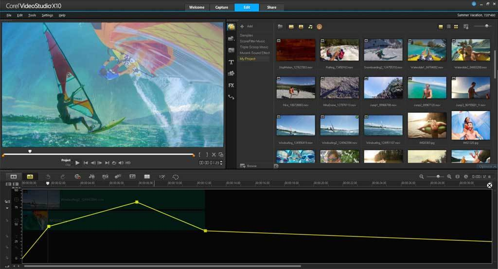 VideoStudio Ultimate X10 screenshot 6
