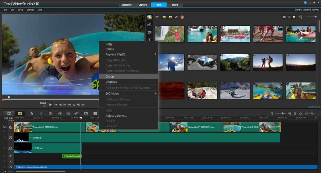 VideoStudio Ultimate X10 screenshot 9