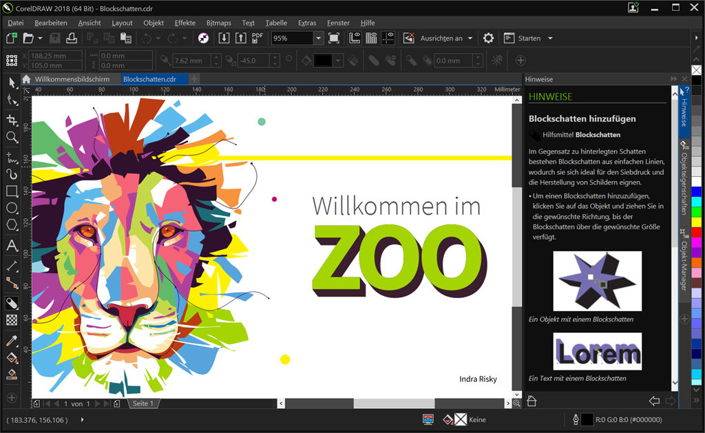 CorelDRAW Graphics Suite 2018 screenshot 1
