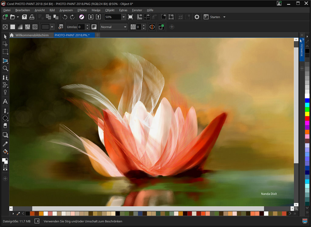 CorelDRAW Graphics Suite 2018 screenshot 2