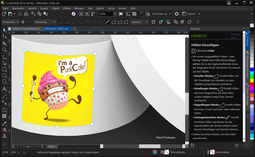 CorelDRAW Graphics Suite 2018 screenshot 3