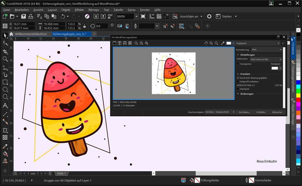 CorelDRAW Graphics Suite 2018 screenshot 5
