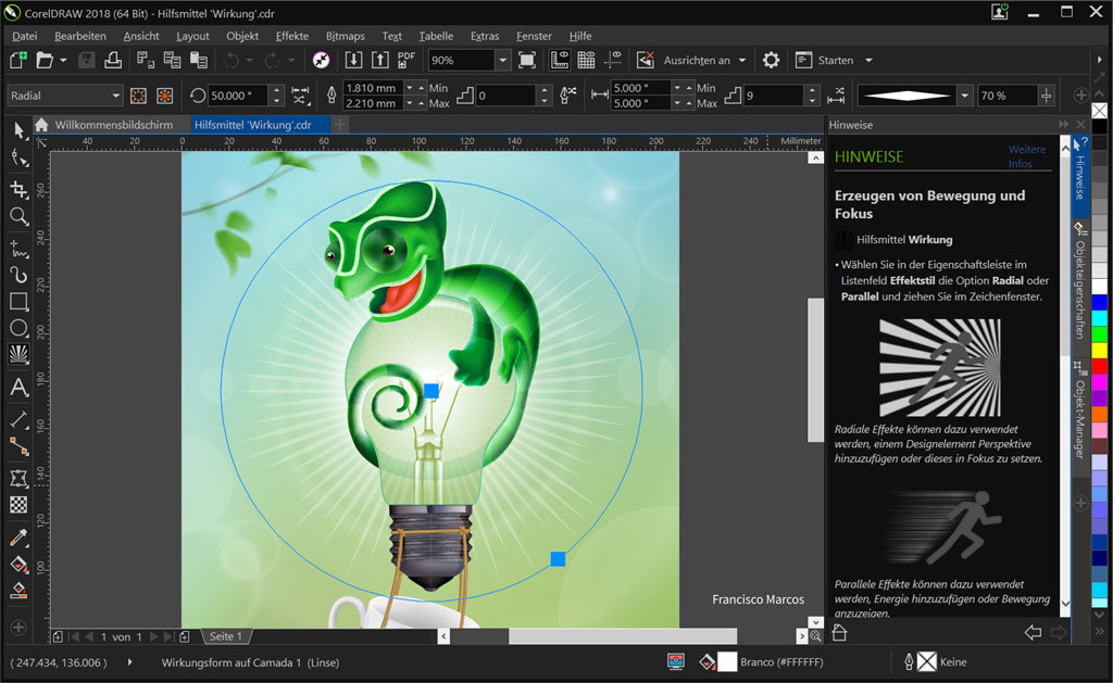 CorelDRAW Graphics Suite 2018 screenshot 6