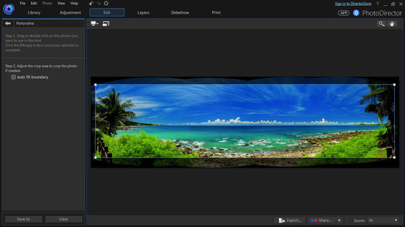 PhotoDirector 7 Suite screenshot 1