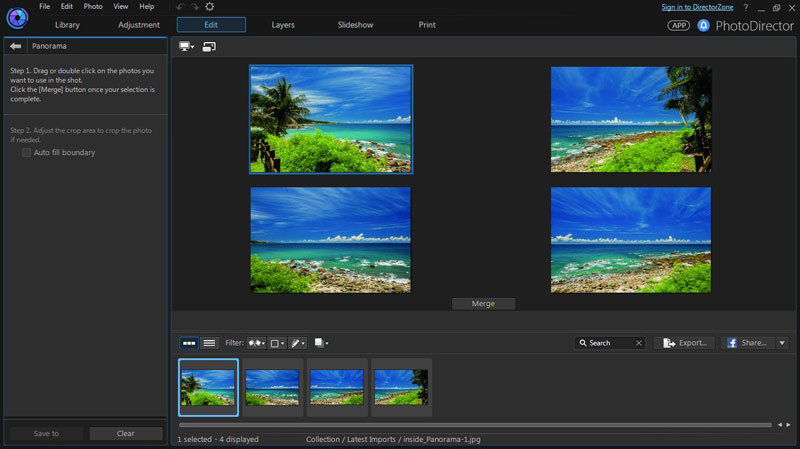 PhotoDirector 7 Suite screenshot 9
