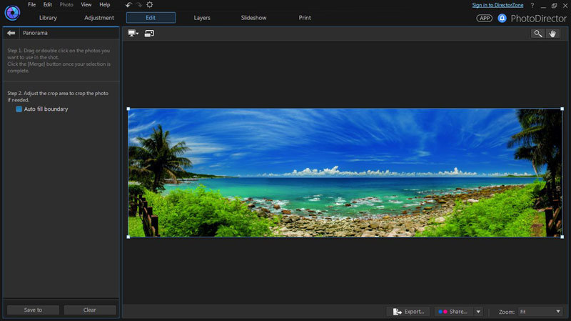PhotoDirector 7 Suite screenshot 10