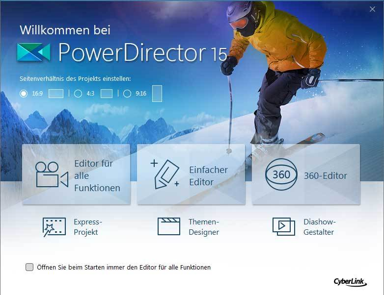 PowerDirector 15.0 Ultimate screenshot 5