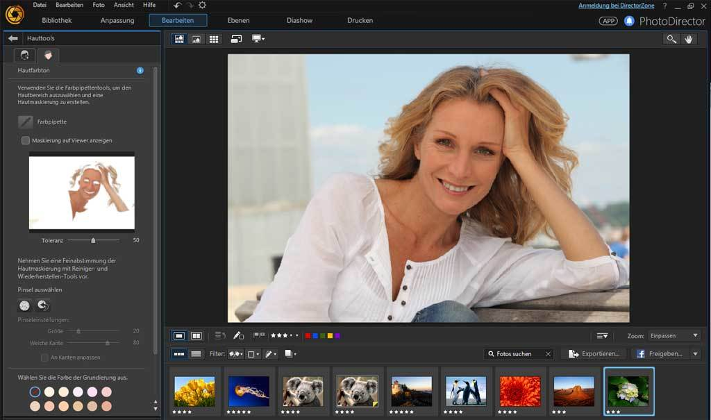PhotoDirector 8.0 Deluxe screenshot 8