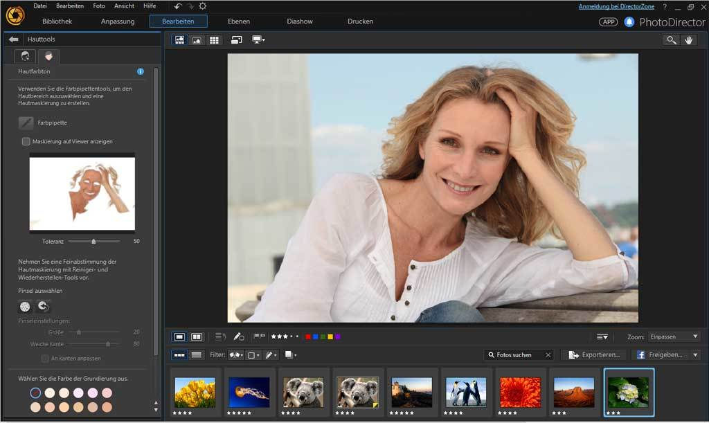 PhotoDirector 8.0 Ultra - Windows screenshot 9