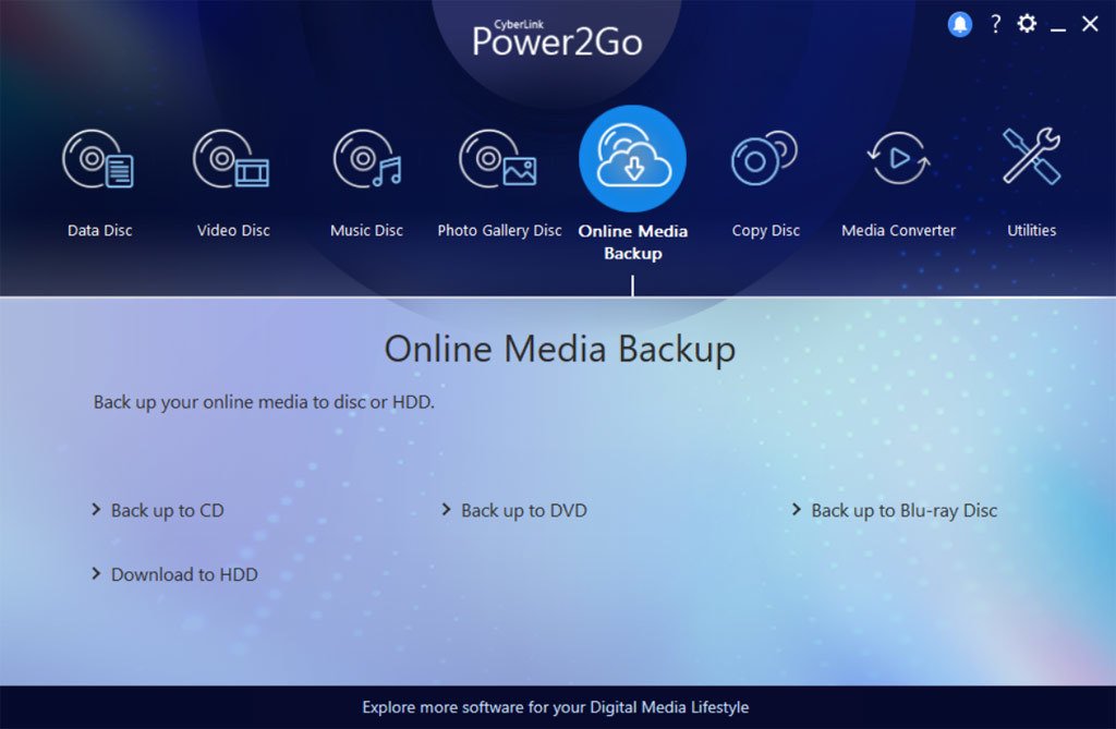 Power2Go 12 Platinum screenshot 3