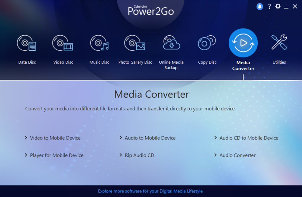Power2Go 12 Platinum screenshot 4