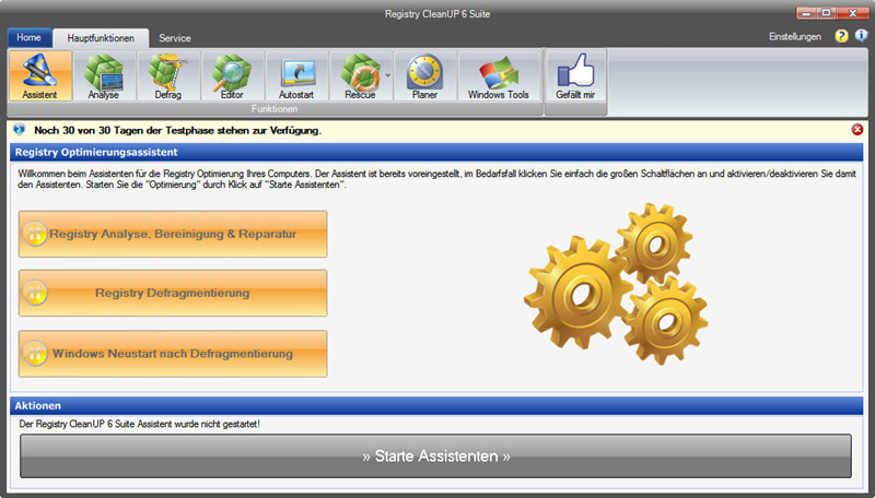 Registry CleanUp 6 Suite screenshot 2