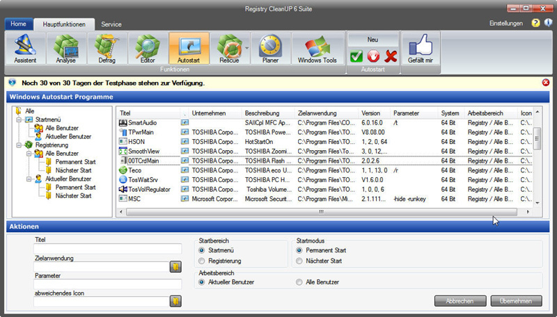 Registry CleanUp 6 Suite screenshot 6