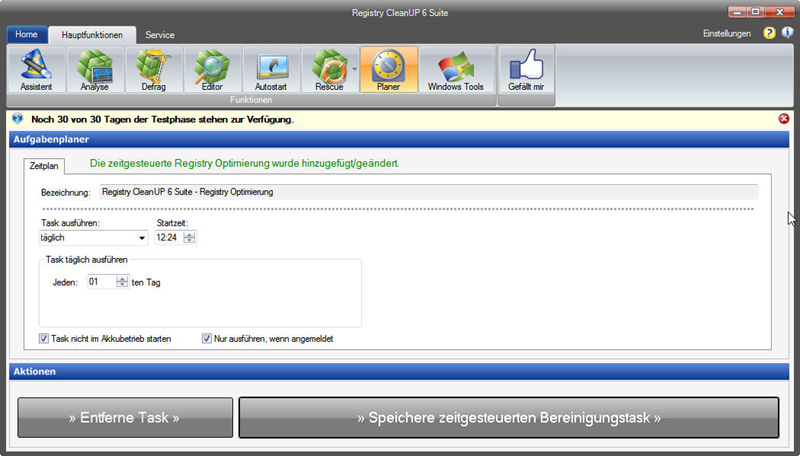 Registry CleanUp 6 Suite screenshot 8