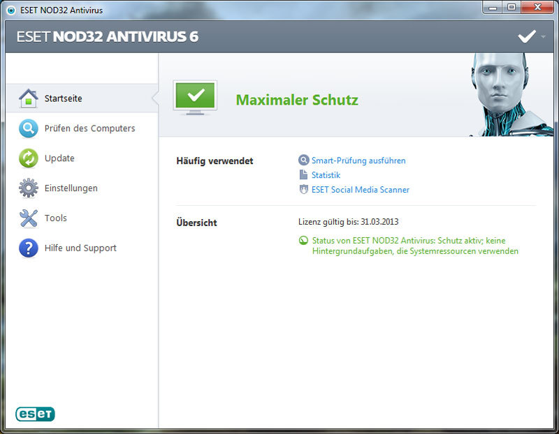 ESET NOD32 Antivirus V6 screenshot 3