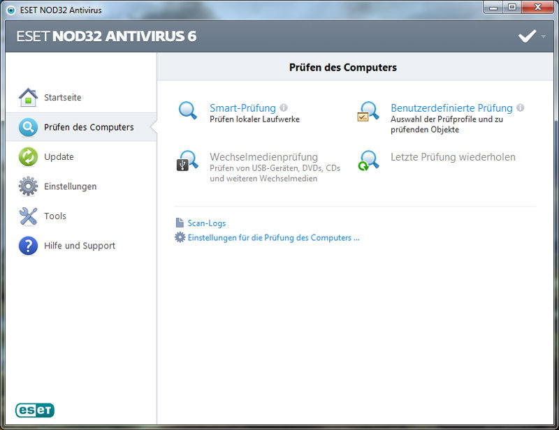ESET NOD32 Antivirus V6 screenshot 4