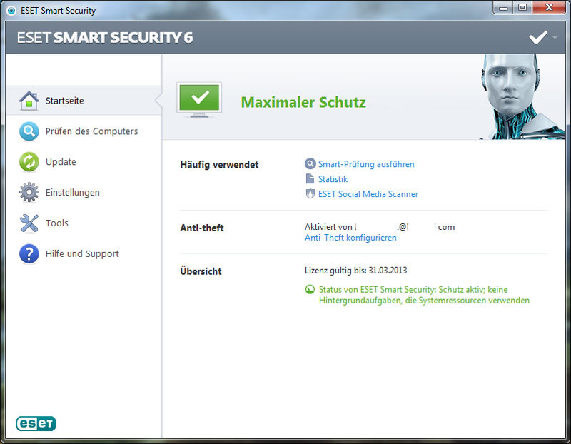 ESET Smart Security V6 screenshot 3