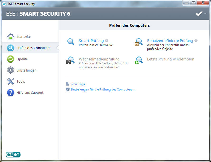 ESET Smart Security V6 screenshot 5