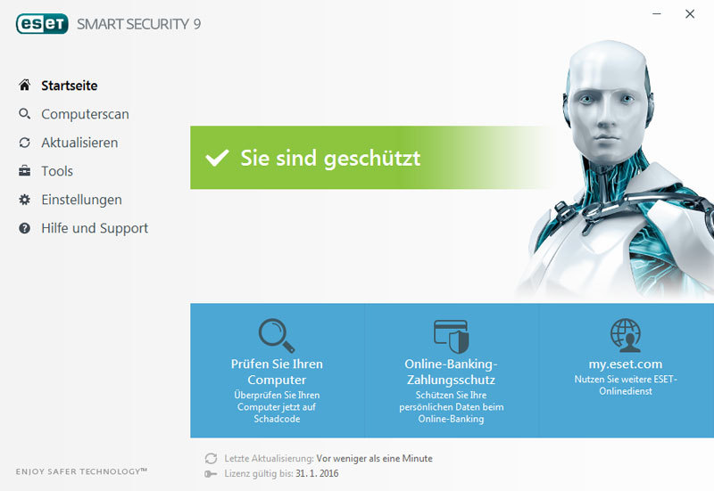 ESET Smart Security 2016 screenshot 3
