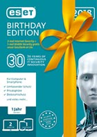 ESET Birthday Edition (2x ESET Internet Sec. + 1x ESET Mobile Sec.)
