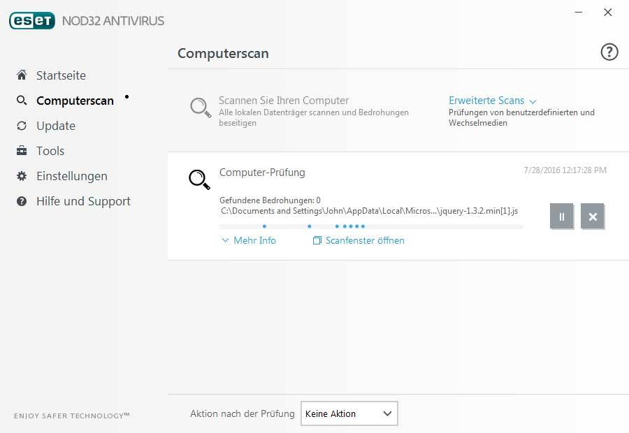 ESET NOD32 Antivirus 2017 Edition screenshot 4