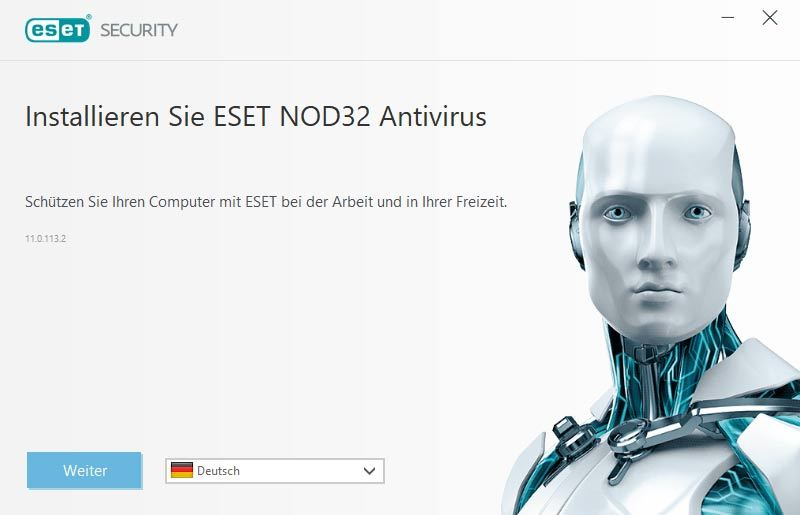 ESET NOD32 Antivirus 2018 Edition screenshot 1