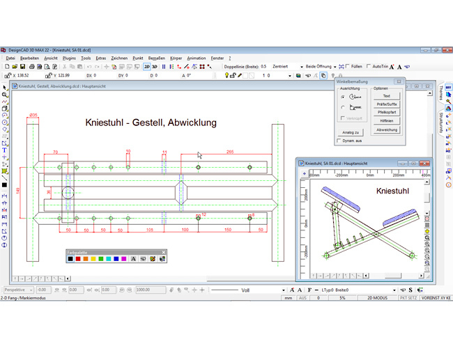 3D design CAD MAX V22 screenshot 1