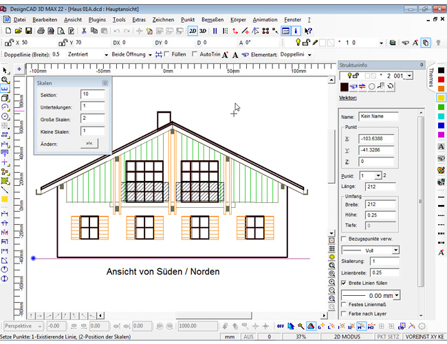 3D design CAD MAX V22 screenshot 3