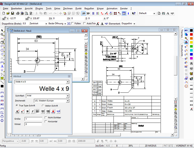 3D design CAD MAX V22 screenshot 5