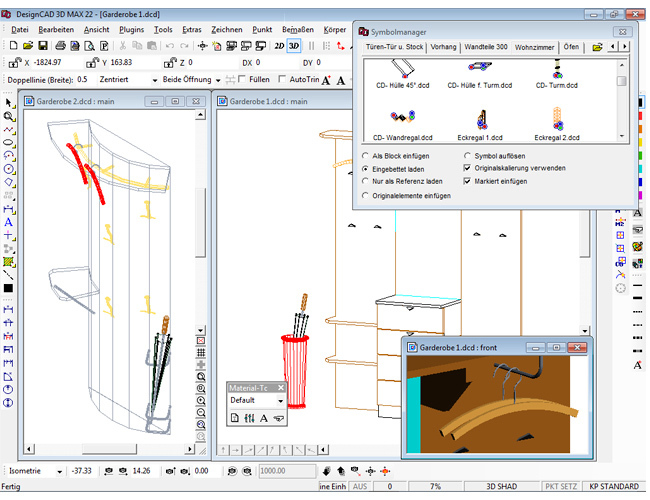 3D design CAD MAX V22 screenshot 6