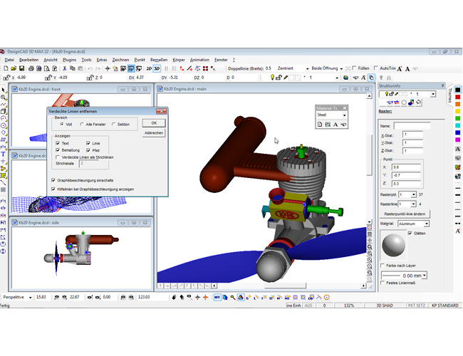 3D design CAD MAX V22 screenshot 8