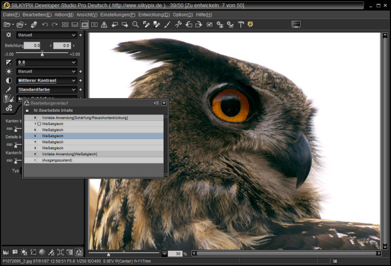 Silkypix Developer Studio Pro screenshot 2