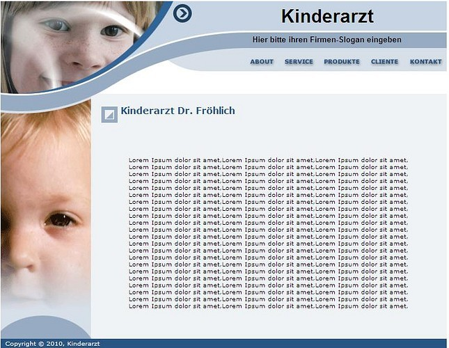 Professionelle Homepage-Vorlagen screenshot 2