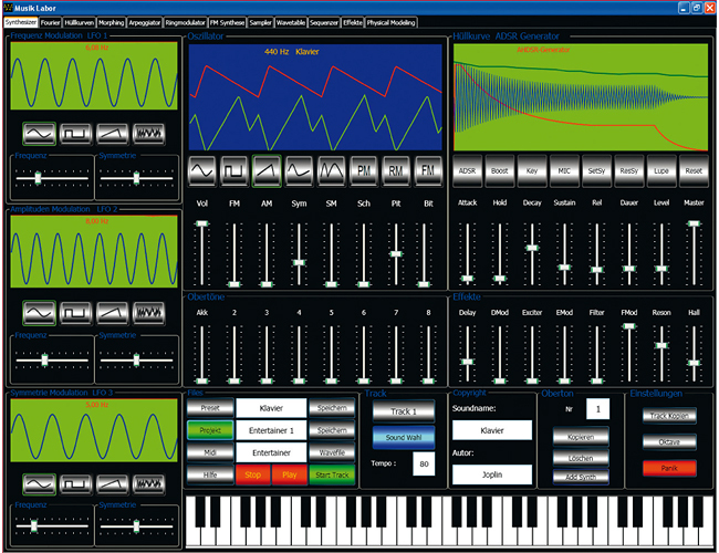Synthesizer Workstation Pro screenshot 4