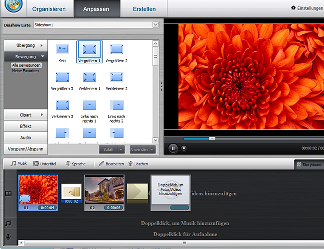 Quick DVD Video Producer screenshot 2