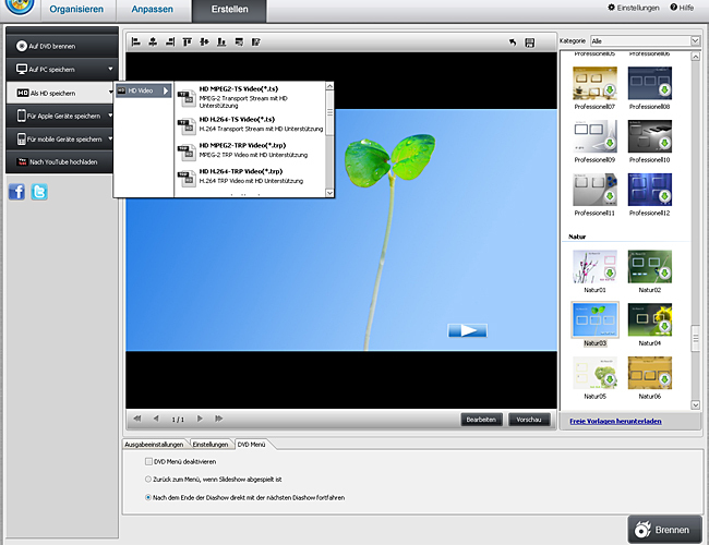 Quick DVD Video Producer screenshot 3