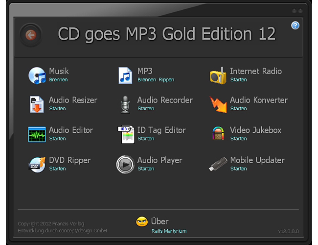 CD goes MP3 Gold Edition 12 screenshot 1