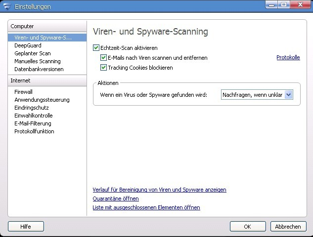 Internet Security 2012 - 1 Jahr 1 PC screenshot 2