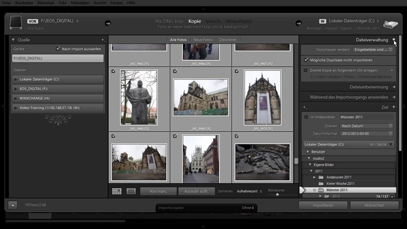 Adobe Photoshop Lightroom 4 - Das umfassende Training screenshot 1