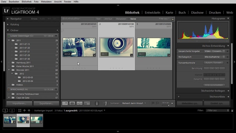 Adobe Photoshop Lightroom 4 - Das umfassende Training screenshot 2