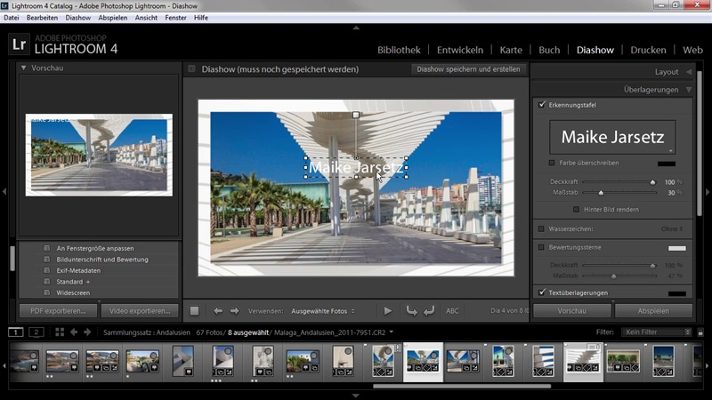 Adobe Photoshop Lightroom 4 - Das umfassende Training screenshot 5