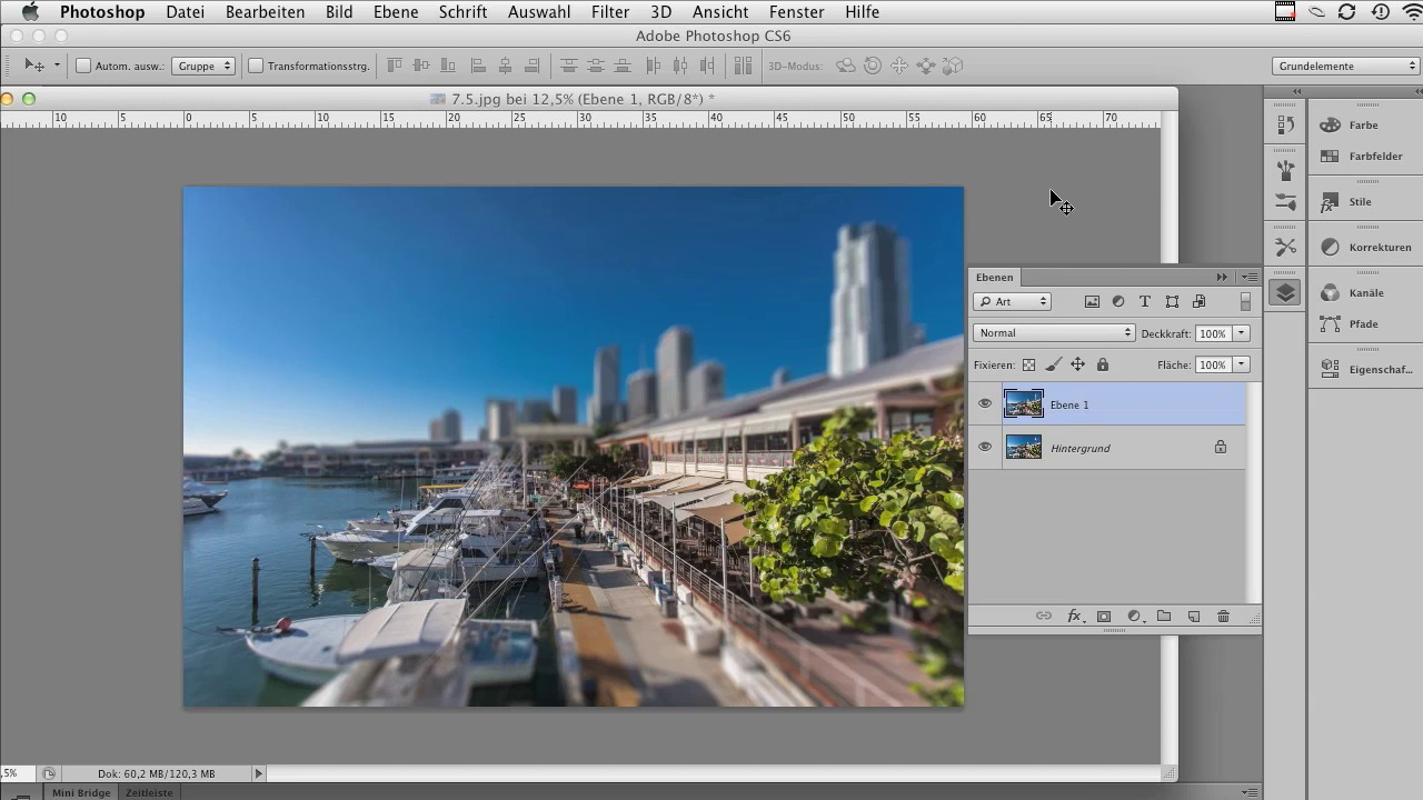 Adobe Photoshop CS6 für Fortgeschrittene screenshot 5