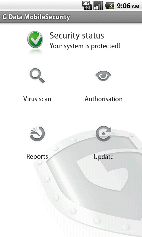 G Data MobileSecurity für Android screenshot 1