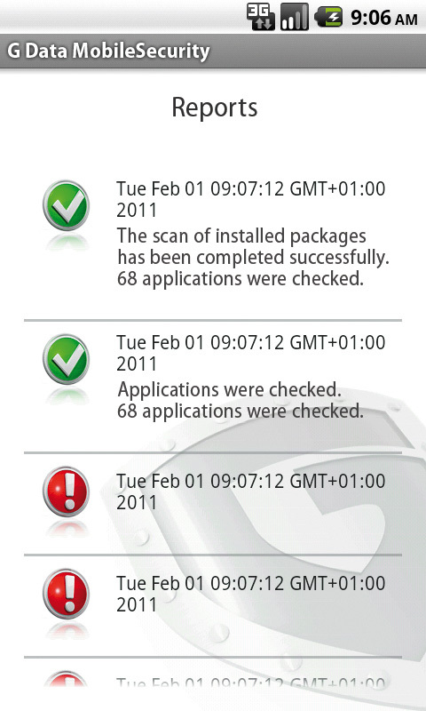 G Data MobileSecurity für Android screenshot 3
