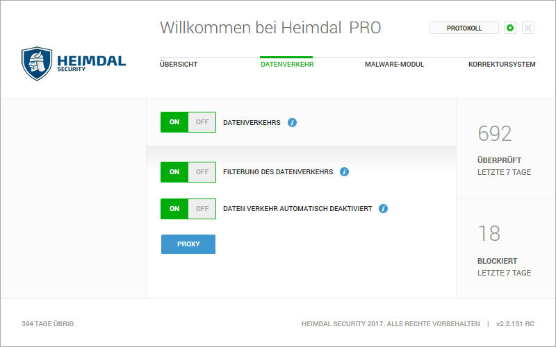 Heimdal PRO Family Edition screenshot 3