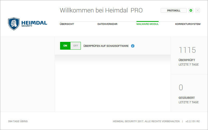 Heimdal PRO Family Edition screenshot 4