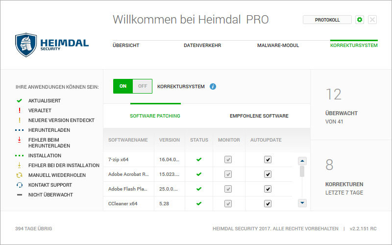 Heimdal PRO Family Edition screenshot 5